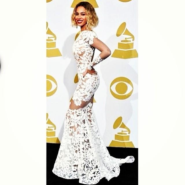 Beyonce - pierścionki - Grammy 2014!