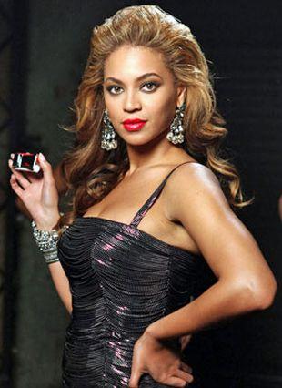 Czerwień na ustach od Beyonce