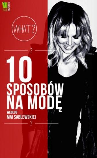 Maja Sablewska na premierze swojej książki