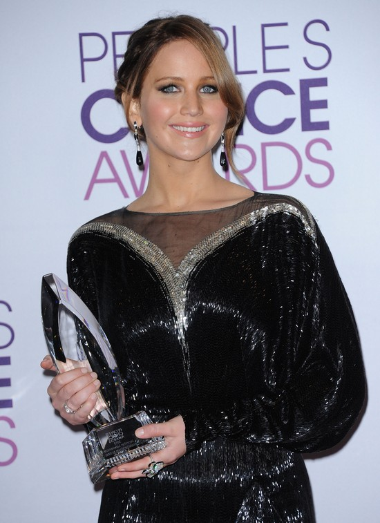 Makijaże Jennifer Lawrence