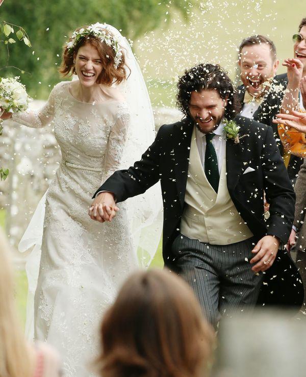 Kit Harington i Rose Leslie wzięli ślub! Mamy zdjęcia! (FOTO)