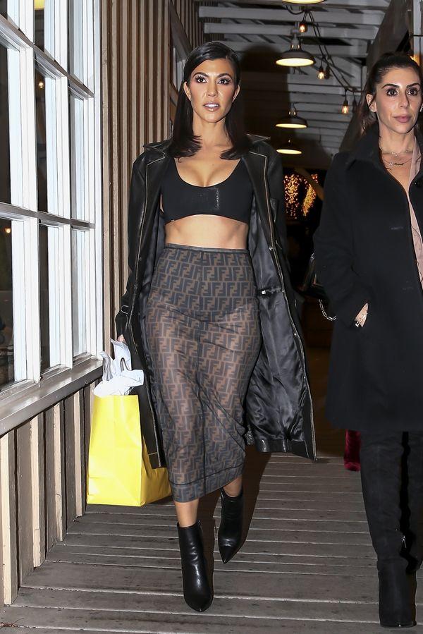 Kourtney Kardashian zdradza swój sposób na TAKĄ pupę! (FOTO)