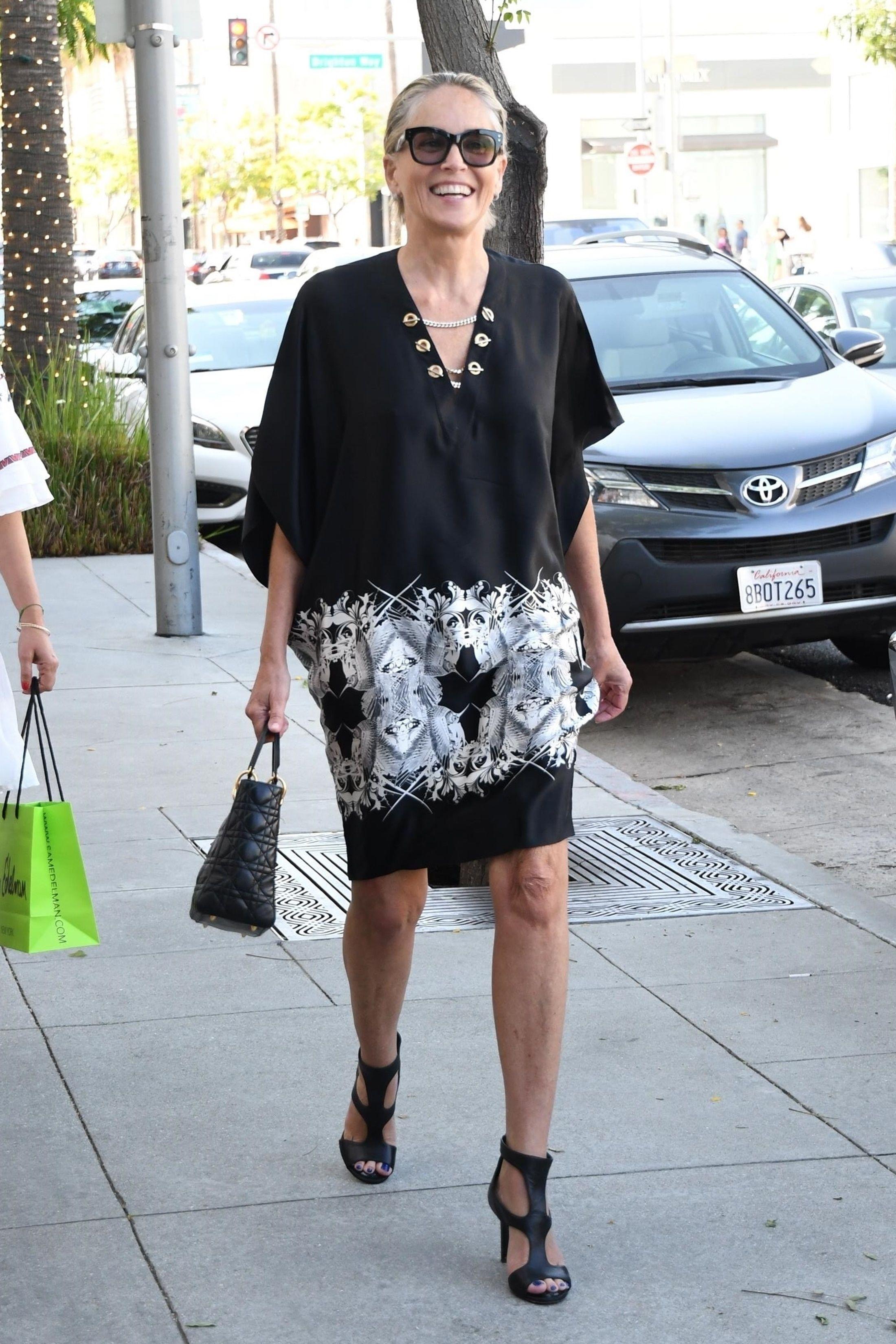 Zachwycająca Sharon Stone. Zobacz jak dziś wygląda aktorka!