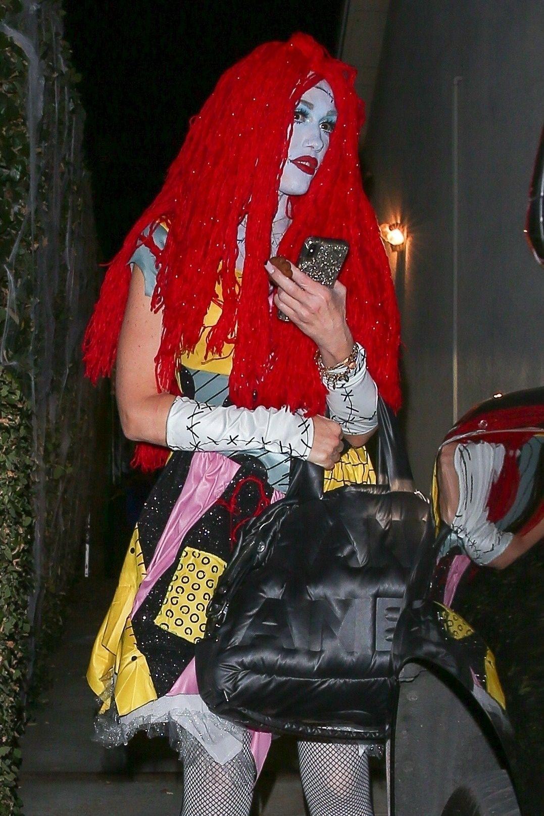 Gwen Stefani w halloweenowym przebraniu. Przebiła pomysły Heidi Klum?