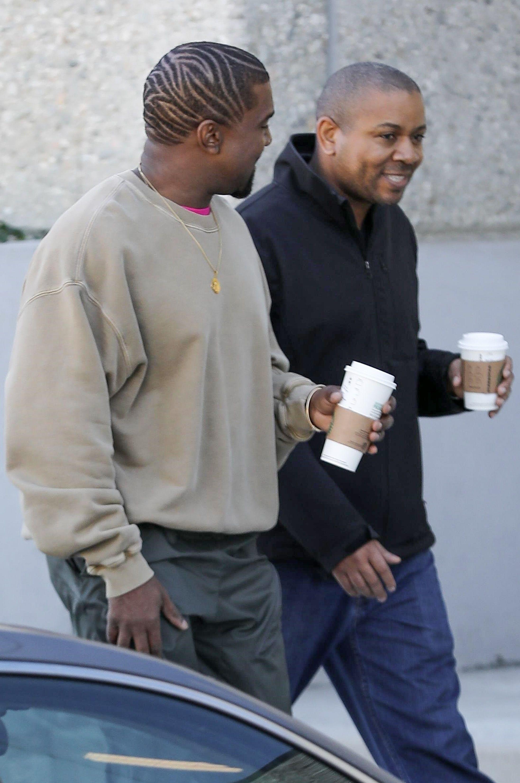Kanye West polubił zwierzęce wzory? Jego nowa fryzura jest bardzo na topie!