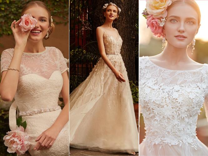 suknie ślubne na wiosnę 2015