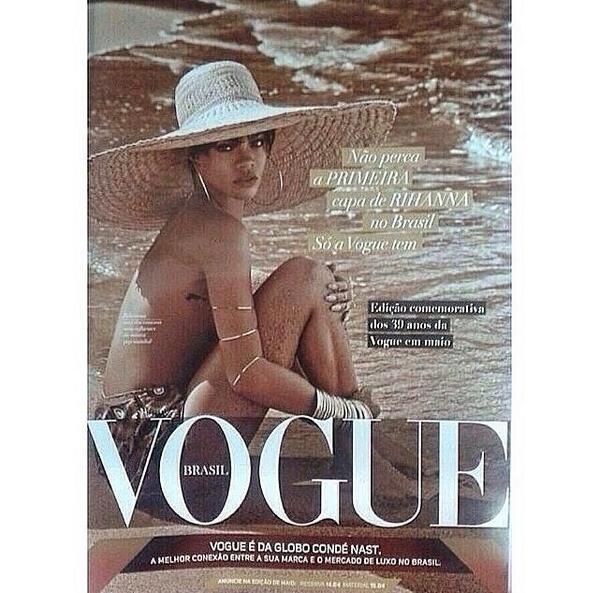 Czy to najnowsza okładka Rihanny dla Vogue?