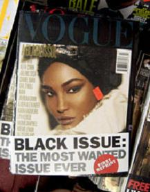 """Czarny Vogue"" bije rekordy"