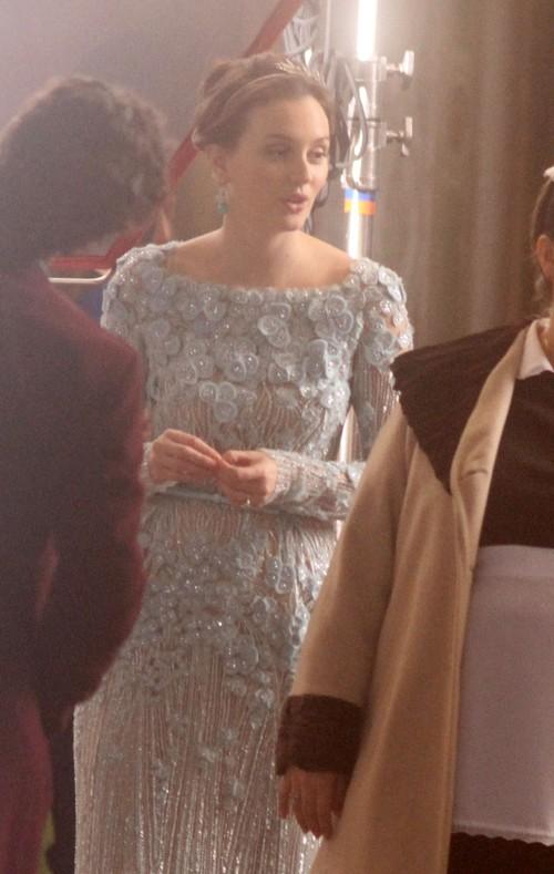Blair Waldorf w sukni ślubnej Elie Saab (FOTO)