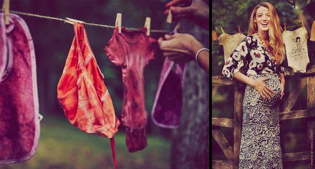 Blake Lively pokazał kolejne zdjęcia ciążowego brzuszka!