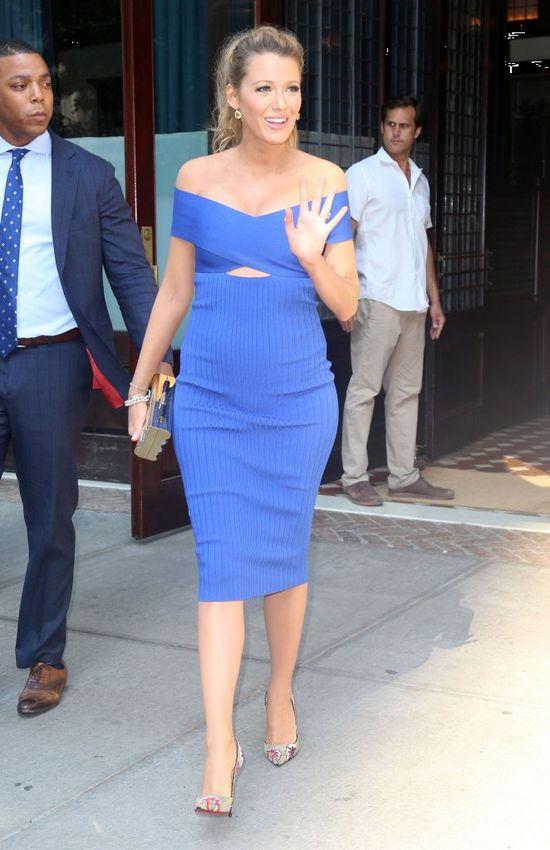 Widać, że Blake Lively jest w doskonałej ciążowej modowej formie