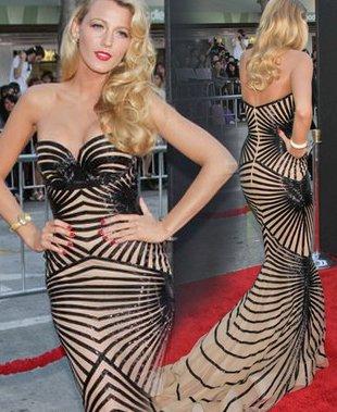 Blake Lively w syreniej sukni (FOTO)