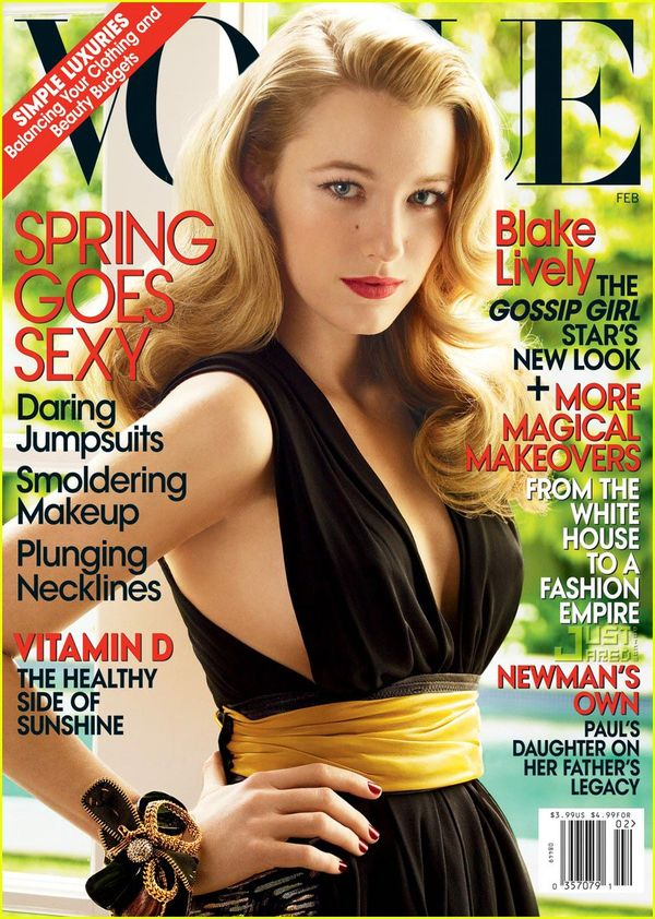 Blake Lively na okładce Vogue'a! (FOTO)