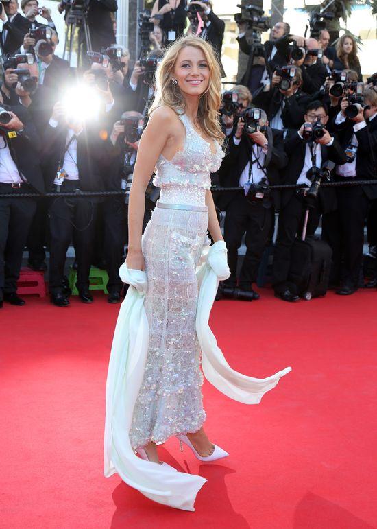 Blake Lively w drugim dniu Festiwalu Filmowego w Cannes