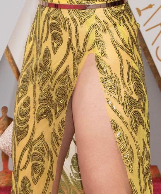 Blanca Blanco na Oscarach chciała pokazać udo, pokazała ZNACZNIE więcej