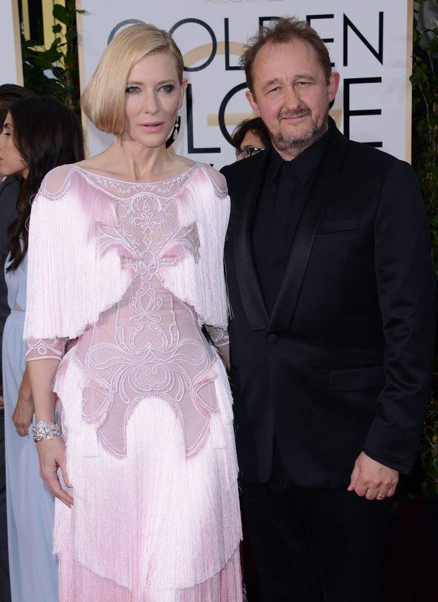 Cate Blanchett i najciekawsza suknia Złotych Globów (FOTO)