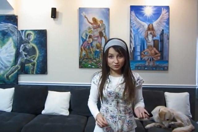 Nowy hit internetu - bardzo religijna blogerka modowa...