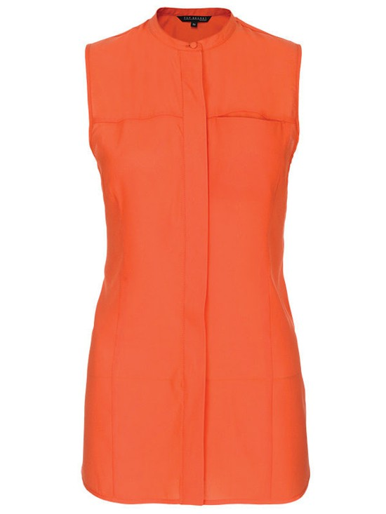 Оранжевая Блузка С Доставкой