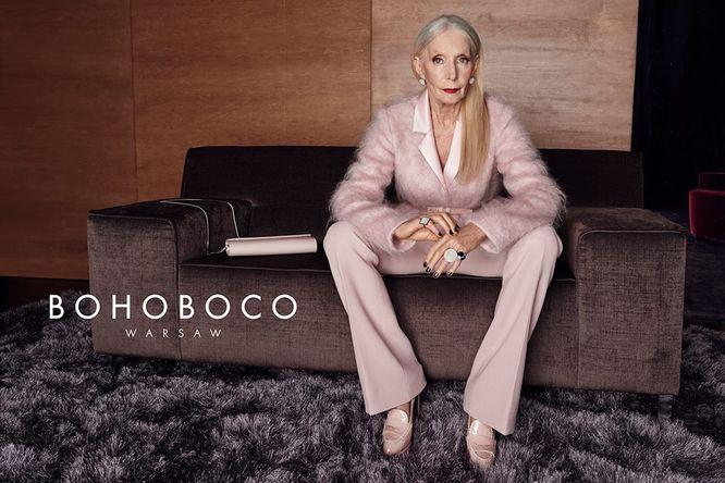 Bohoboco kolejny raz trafiają z kampanią z Helena Norowicz