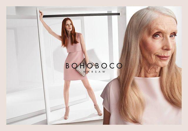 Bohoboco zakoczyło niesamowitą kampanią z 80-letnią aktorką!
