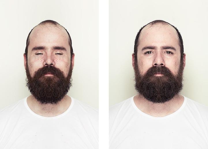 Artysta pokazał, jak wyglądałyby idealnie symetryczne twarze