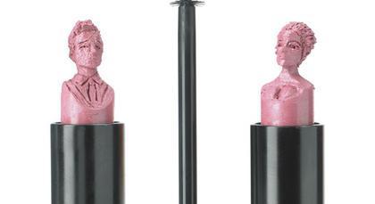 Brangelina w szminkach