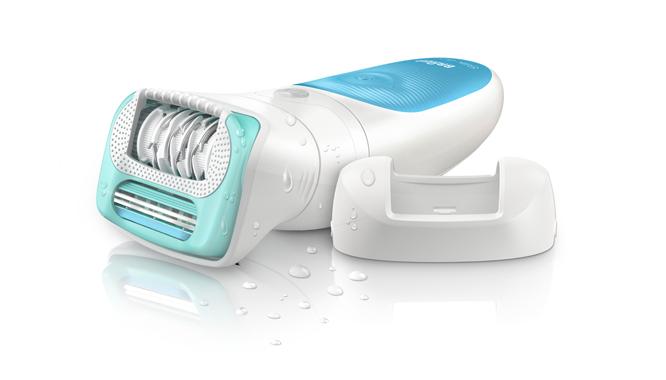 #pierwszadepilacja - poznaj depilator Braun Silk-épil 5 Wet&Dry z nasadką dla po