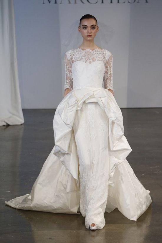 Marchesa suknie ślubne wiosna-lato 2014