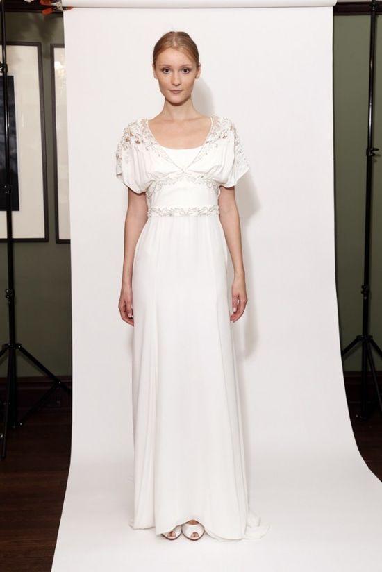 Oryginalne suknie ślubne Temperley jesień-zima 2014/2015
