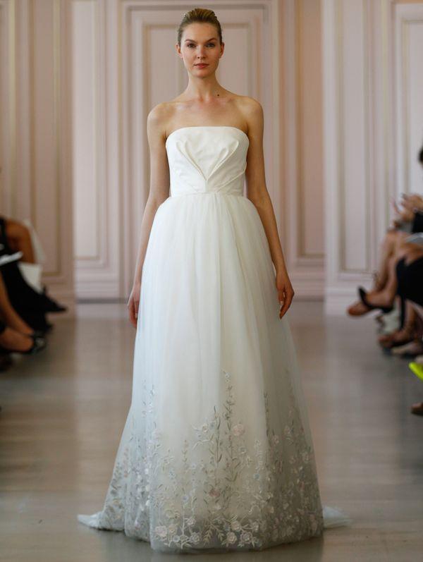 Wymarzone suknie ślubne na 2016 rok od Oscara de la Renty
