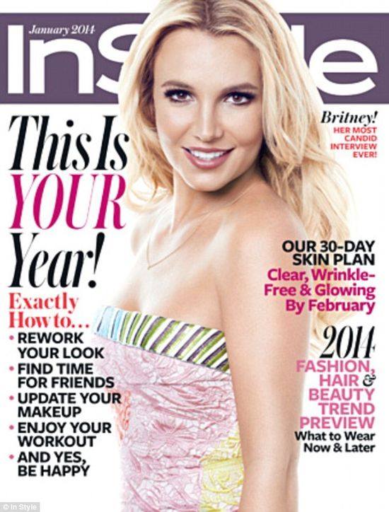 Britney Spears w InStyle o swojej figurze