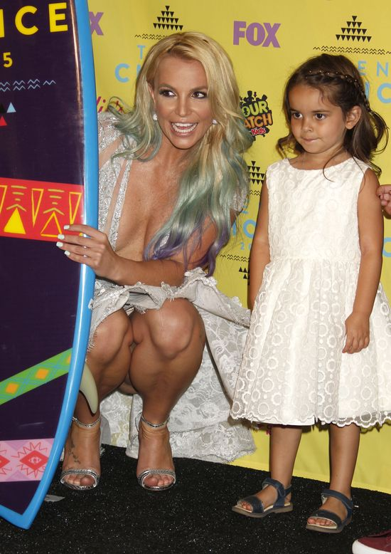 Stylizacja Britney Spears nie była jej jedyną wpadką na gali