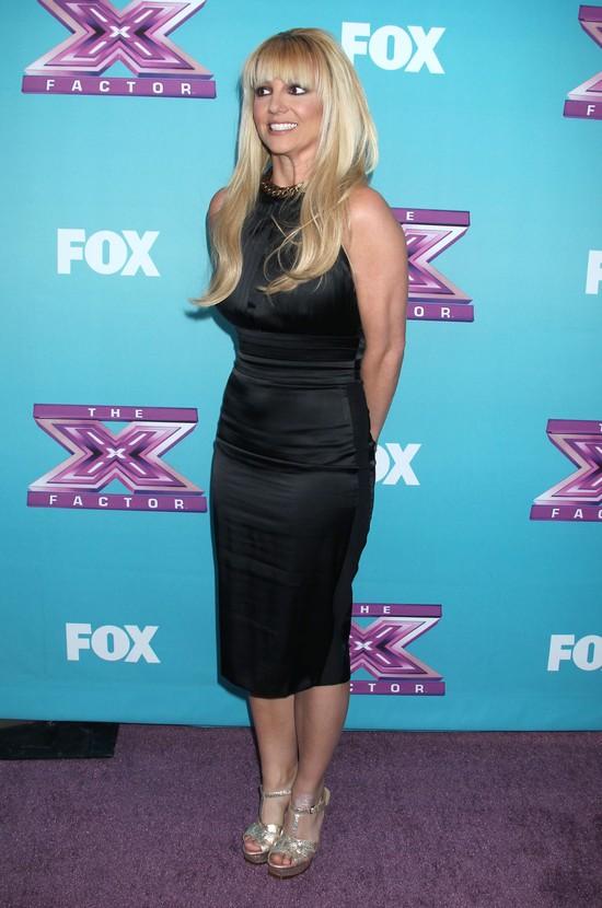 Britney Spears z grzywką