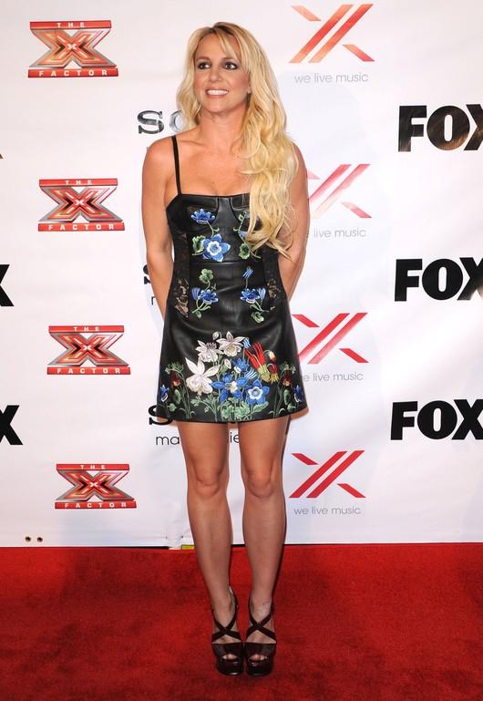 Britney Spears w kusej sukience marki Christopher Kane (FOTO)