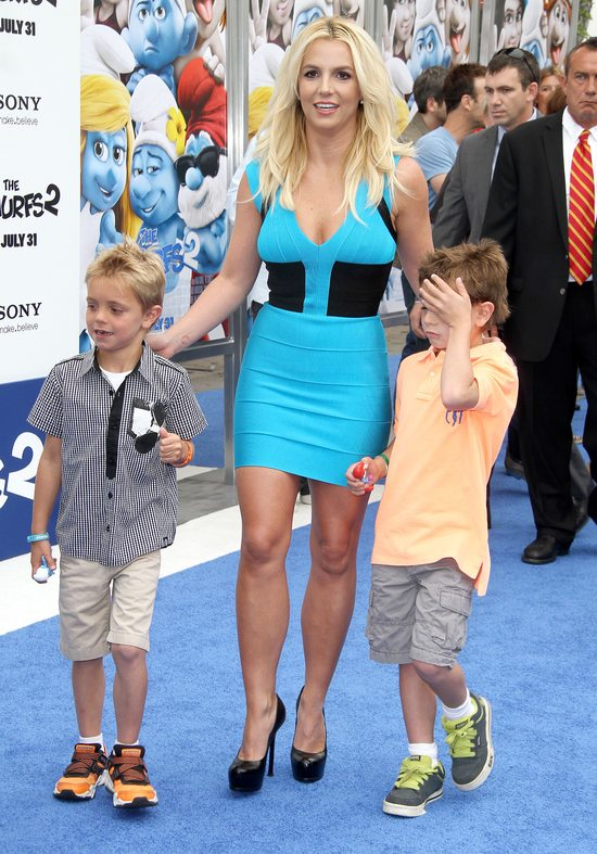 Britney Spears w Herve Leger