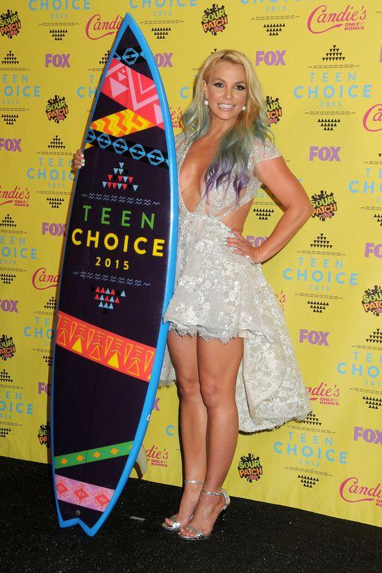 Britney Spears w najgorszej stylizacji Teen Choice Awards?