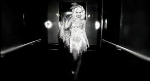 Britney Spears w reklamie perfum Fantasy Twist