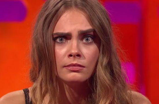 Cara Delevingne i Emilia Clarke nie boją się zmarszczek