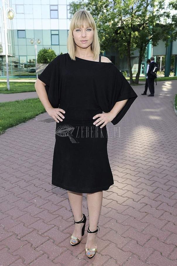 Katarzyna Bujakiewicz w czerni