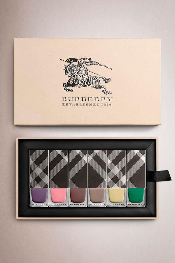 Burberry - lakiery na wiosnę-lato 2014