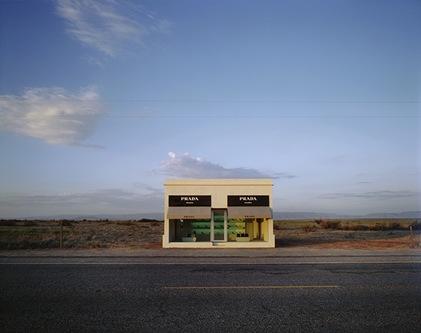 Sklep Prady na środku pustyni