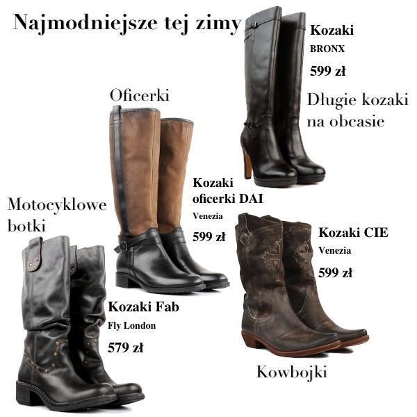 Najmodniejsze buty sezonu (FOTO)