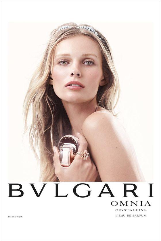 Edita Vilkeviciute twarzą perfum Bulgari