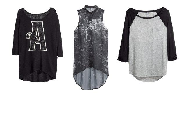 Propozycje H&M: Divided dziewczyny