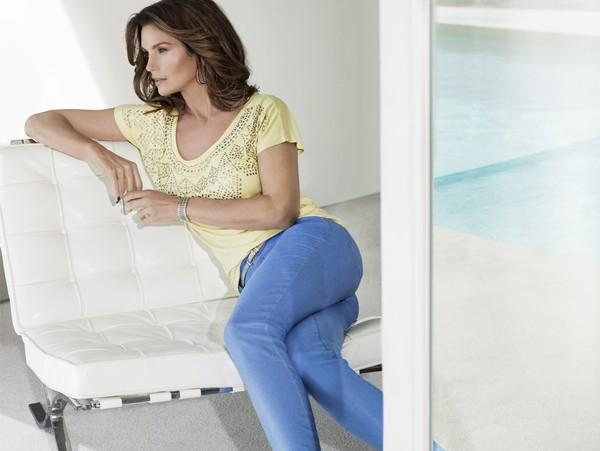 Cindy Crawford twarzą marki C&A na sezon wiosna-lato 2013