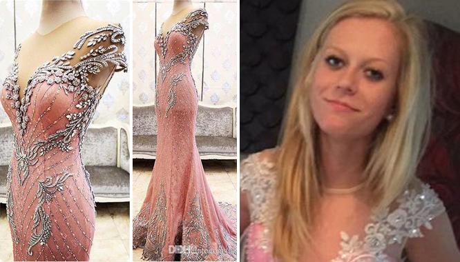 """Sukienki z chińskich stron rozczarowały już niejedną kobietę... """"Kreacje"""" bardzo często zaskakują, niestety w sposób negatywny... Przekonała się o tym ostatnio również Alivia Briggs, która zamawiała sukienkę na swój bal maturalny. Szybko pożałowała swojej decyzji i spoglądając na poniższe zdjęcia ciężko jest się jej dziwić... ZOBACZ: IDEALNE ŻYCIE Z INSTAGRAMA KONTRA SZARA RZECZYWISTOŚĆ"""