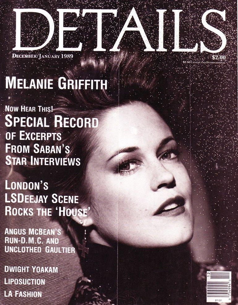 Okładki z udziałem Melanie Griffith