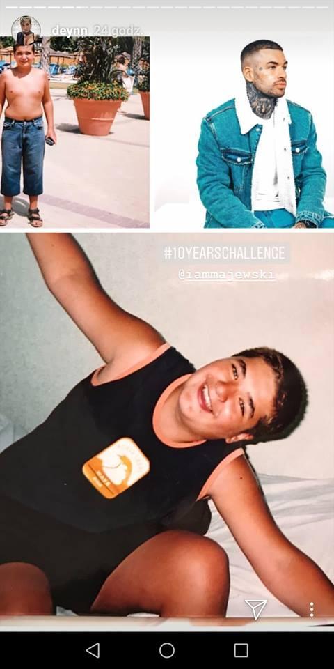 Deynn pokazała zdjęcie sprzed 10 lat! Nieprzyzwoicie piękna zmiana wizerunku