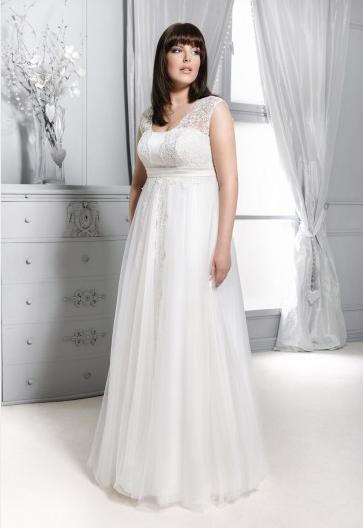0ff63b98f45de4 Agnes - suknie ślubne dla puszystych - kolekcja 2015 - zdjęcie 5 ...
