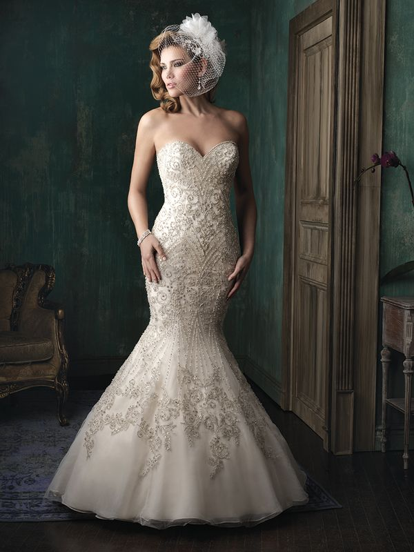 Co powiecie na suknie ślubne Allure Bridals Couture?